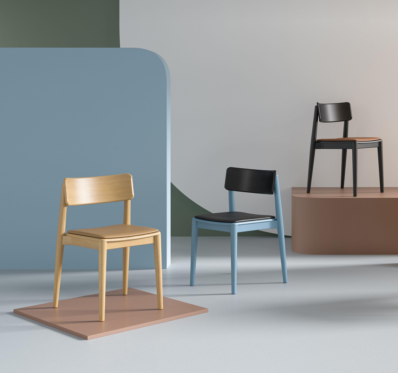 nowoczesne tapicerowane krzesło drewniane