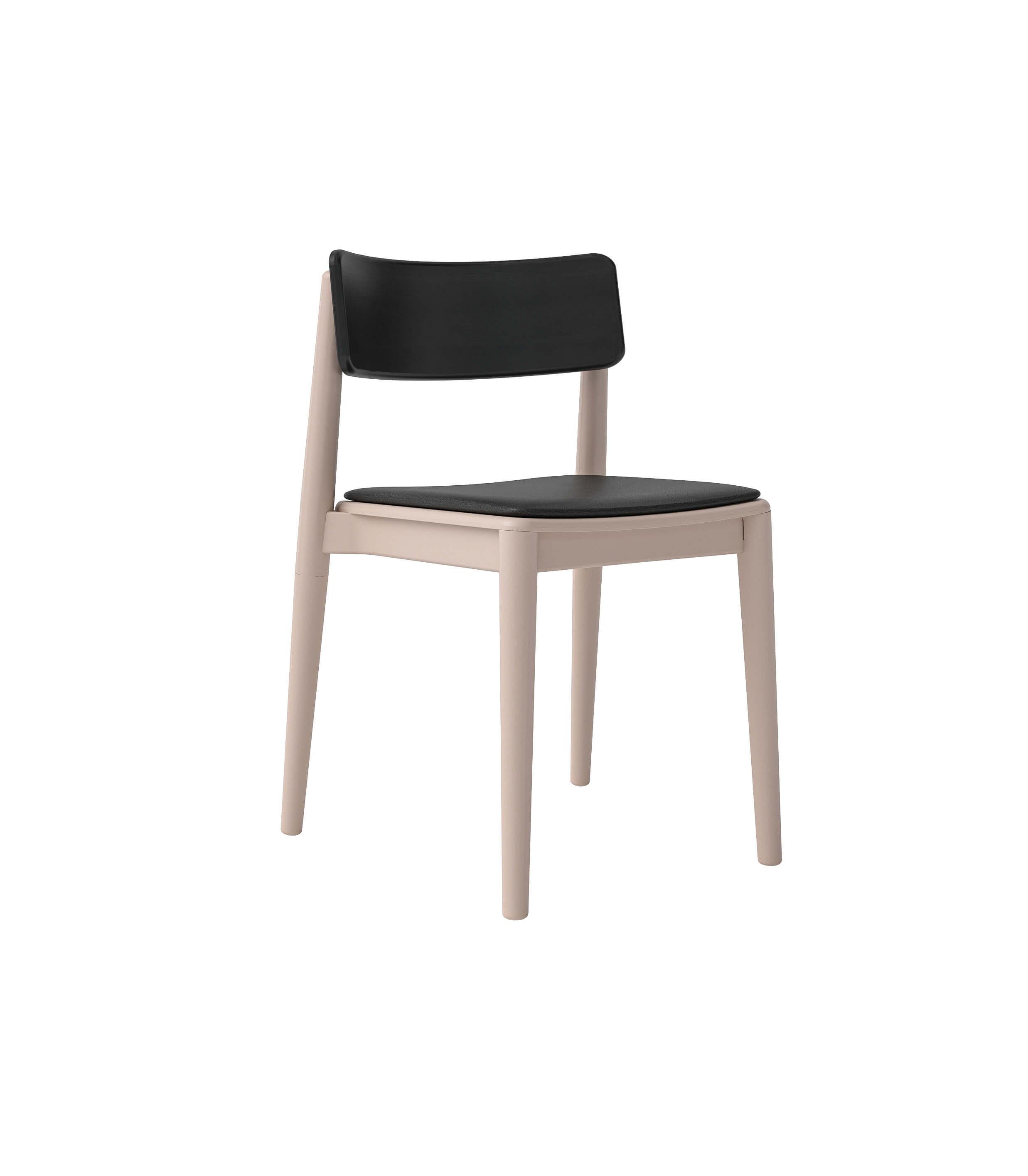 krzesło dębowe w stylu skandynawskim