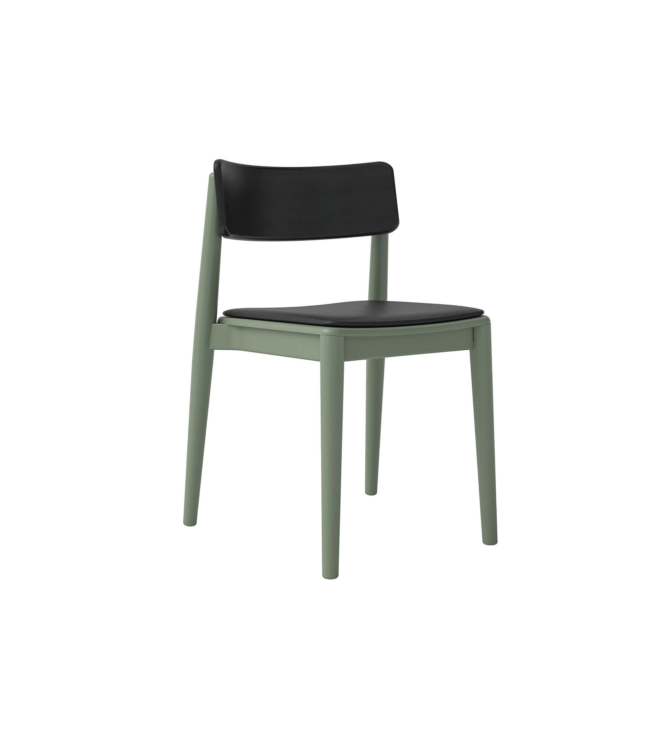 szare drewniane skandynawskie krzesło