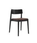 p krzeslo czarne nowoczesne drewniane