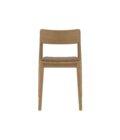 krzeslo debowe tapicerowane bezowe