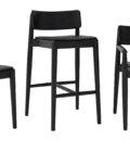 krzesla drewniane czarne polski design