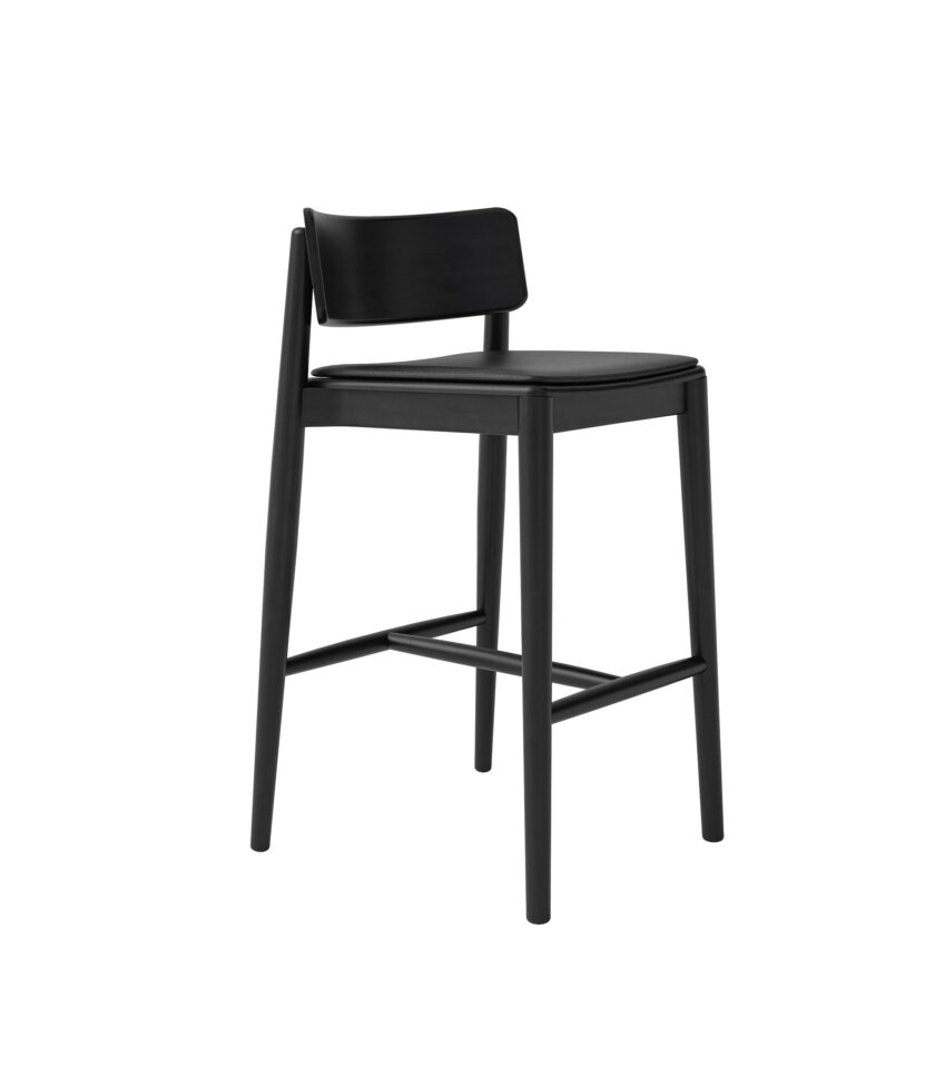 krzeslo barowe czarne hocker nowoczesne