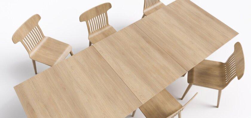 stol rozkladany debowy