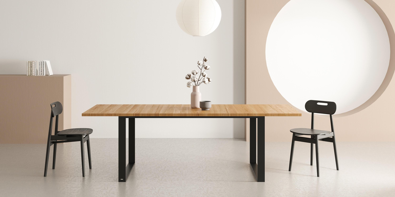 stol rozkladany nowoczesny czarny