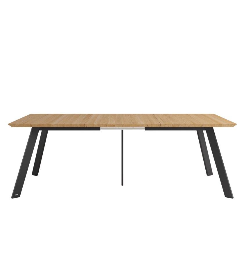 stol nowoczesny rozkladany blat debowy