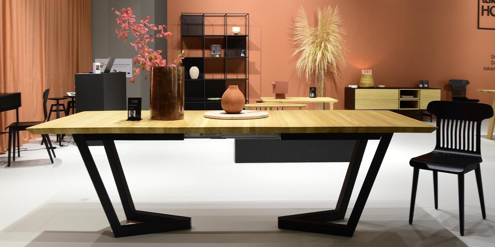 tavolo debowy stol w stylu skandynawskim