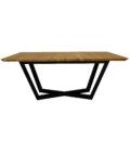 czarny nowoczesny stol rozkladany do jadalni