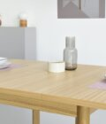 maly rozkladany kwadratowy stol debowy