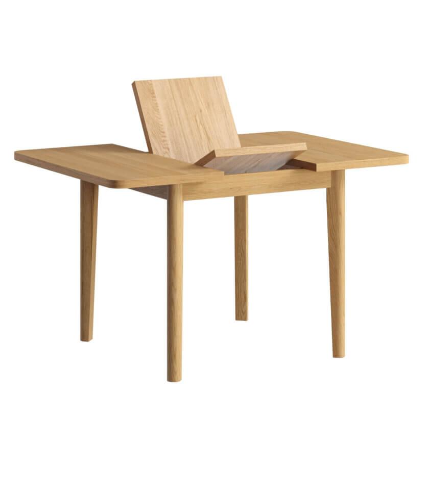 maly rozkladany stol dab skandynawski