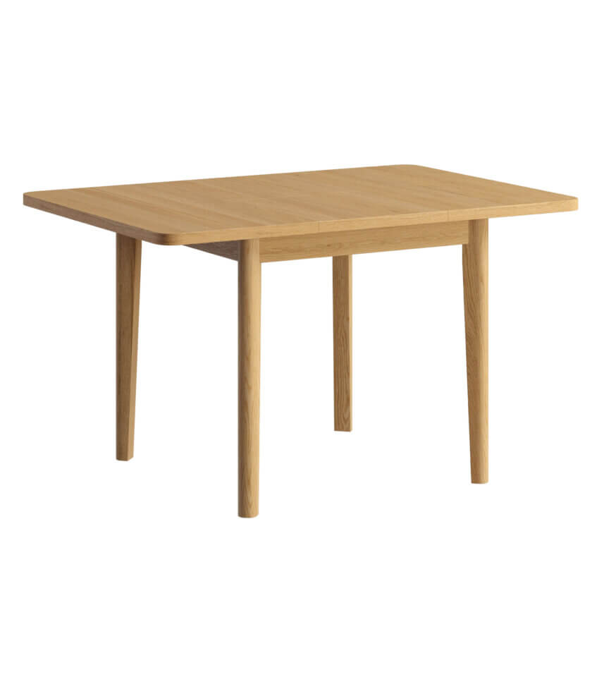 maly rozkladany stol drewniany debowy