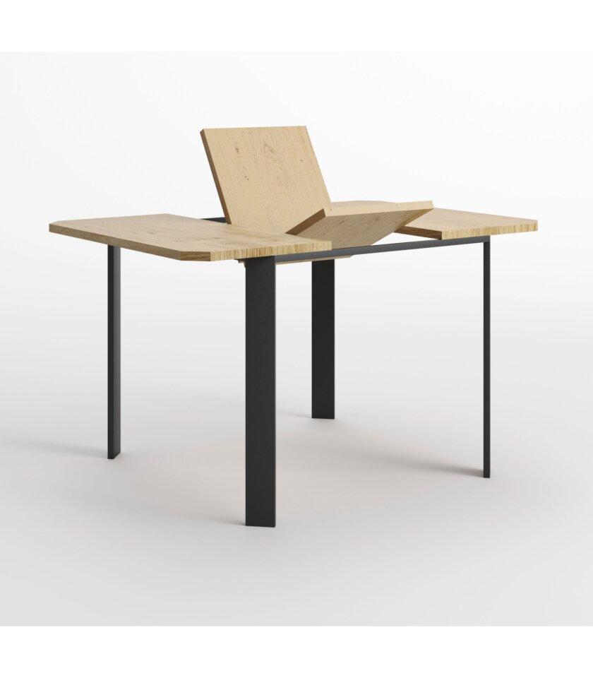 maly rozkladany stol industrialny