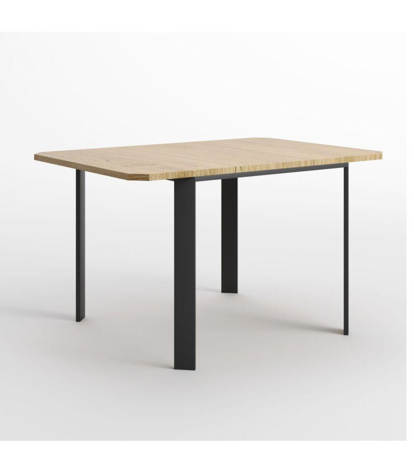 maly rozkladany stol skandynawski debowy