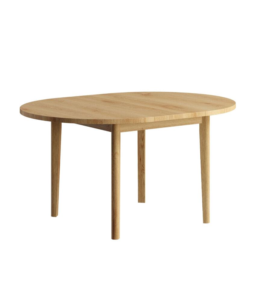 stol okragly drewniany rozkladany