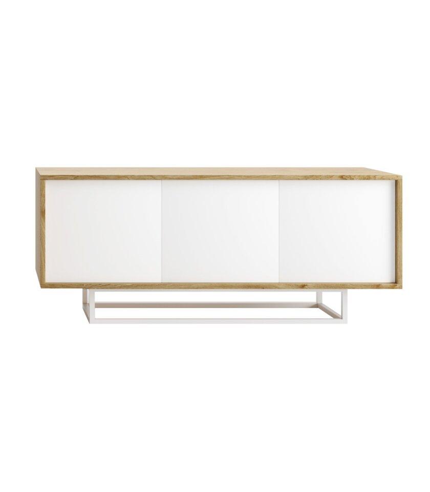 szafka nowoczesna w stylu skandynawskim biala