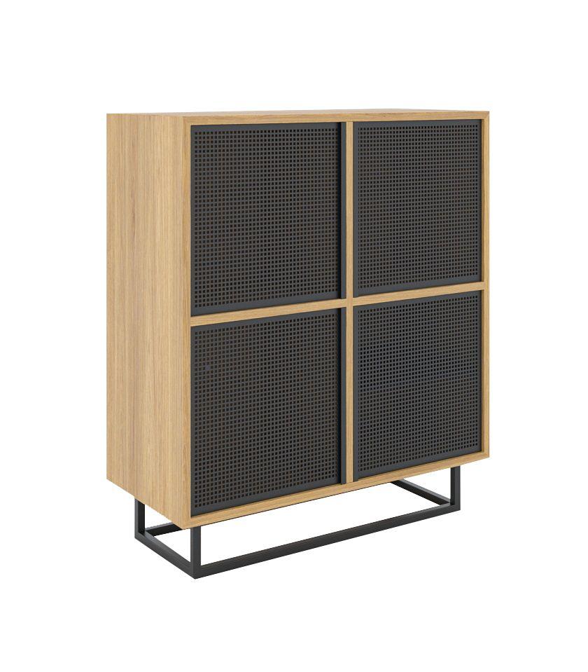 minimalistyczna szafka debowa