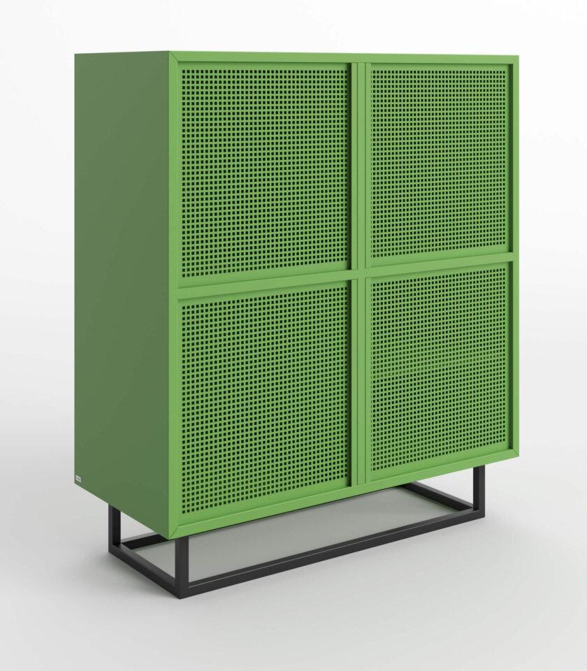 komoda nowoczesna zielona