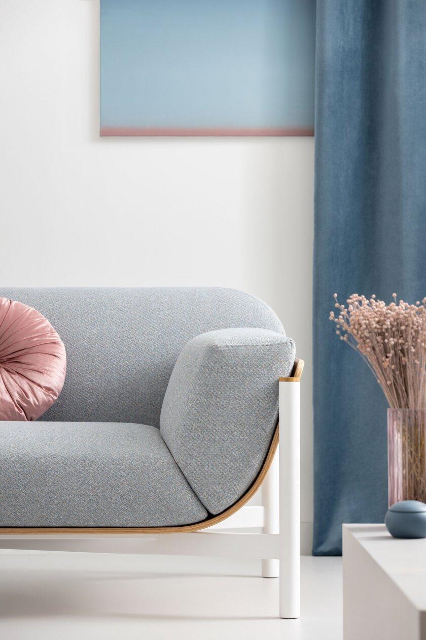 nowoczesna sofa debowa