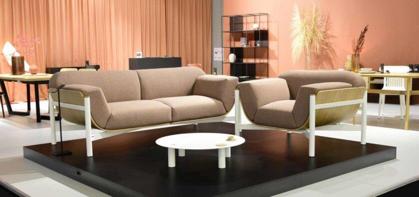 sofa do hotelu lobby