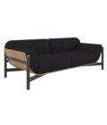 sofa prosta w formie debowa