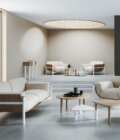 fotel nowoczesny skandynawski hotel