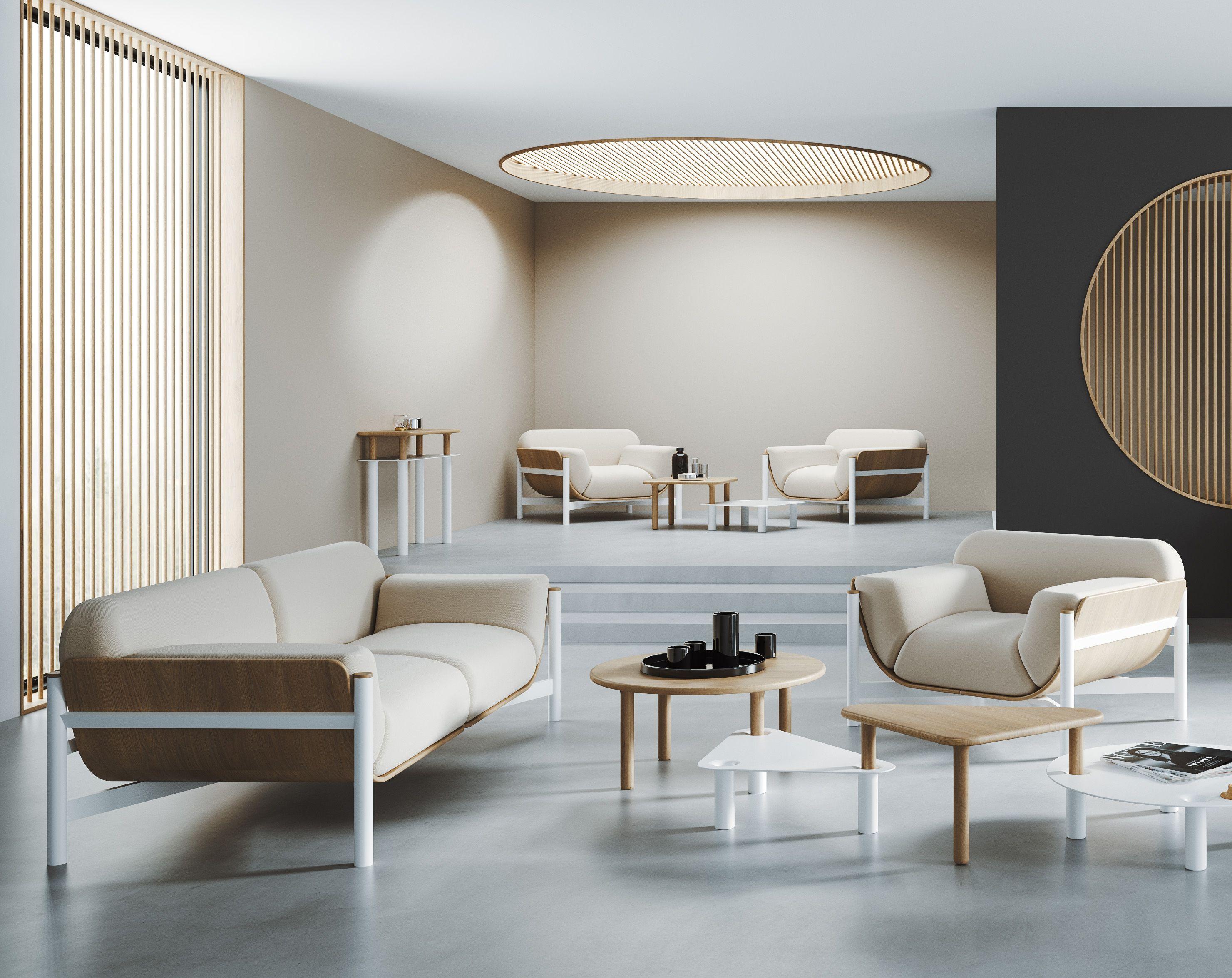 nowoczesny fotel skandynawski do hotelu biały