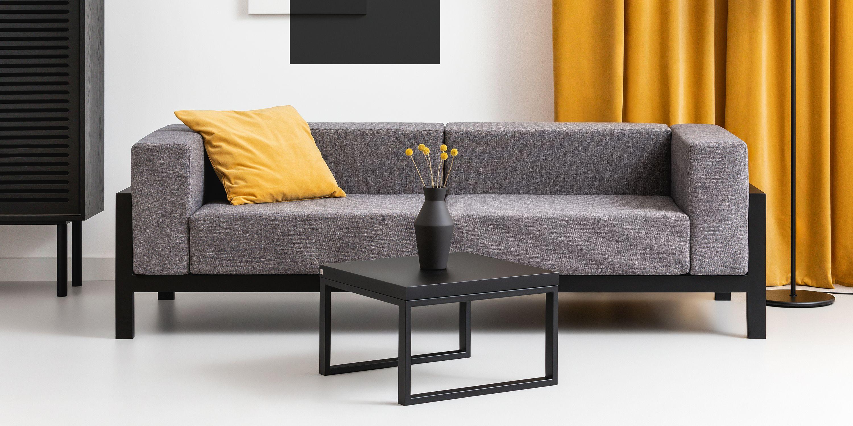 nowoczesna industrialna sofa