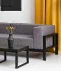 sofa nowoczesna czarna