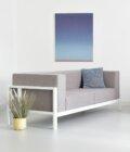 sofa fotel szara nowoczesna minimalistyczna