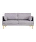 sofa w stylu skandynawskim debowe nogi
