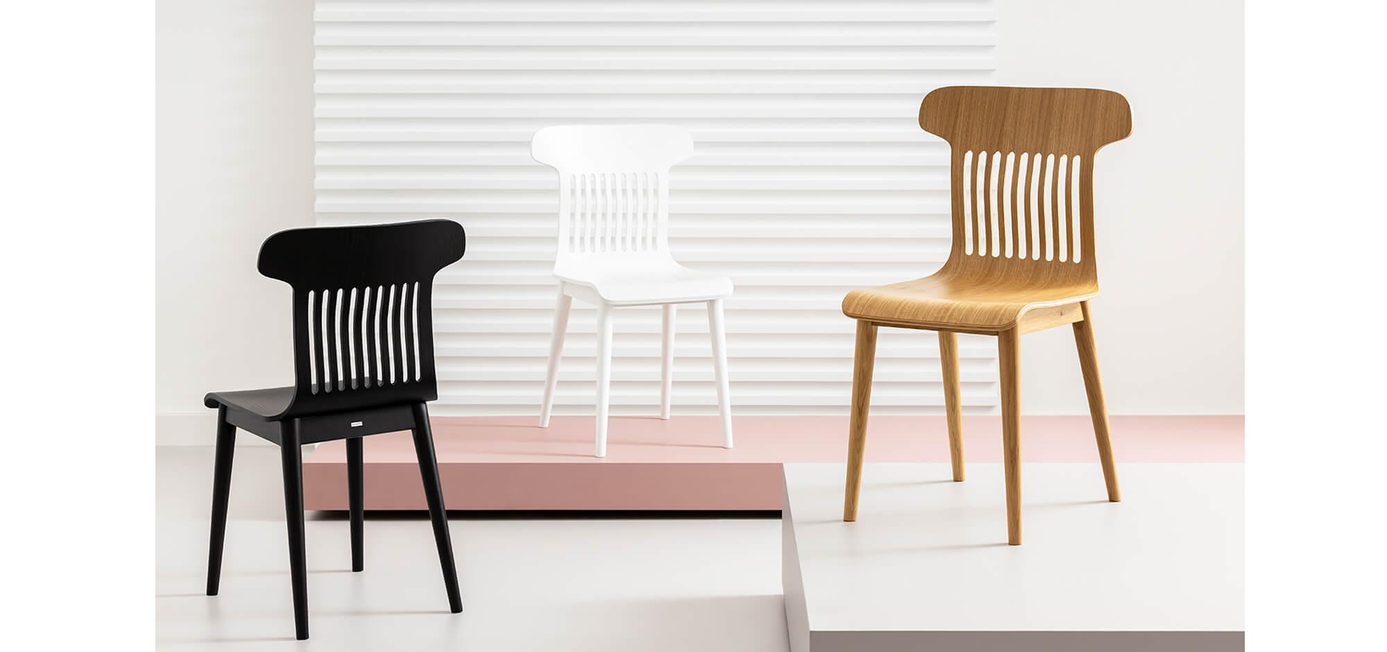 krzesło dębowe nowoczesne skandynawskie