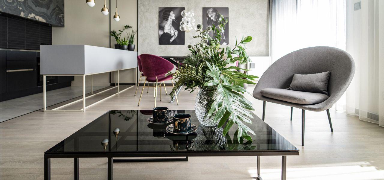take me HOME - MANHATTAN stolik kawowy w stylu loftowym