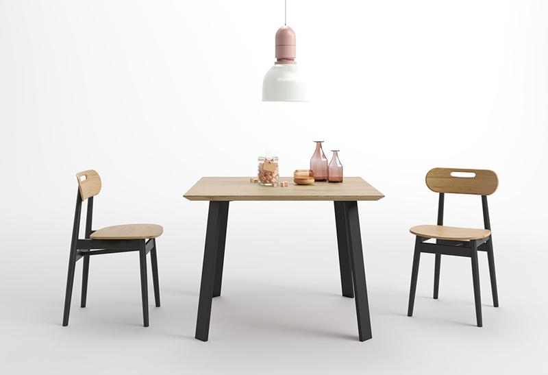 mały stół nowoczesny skandynawski