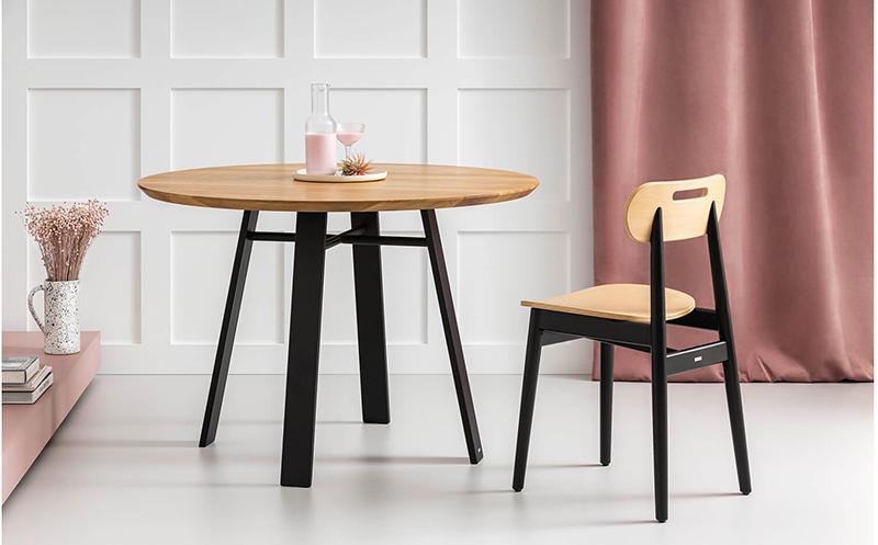 mały stół nowoczesny loftowy