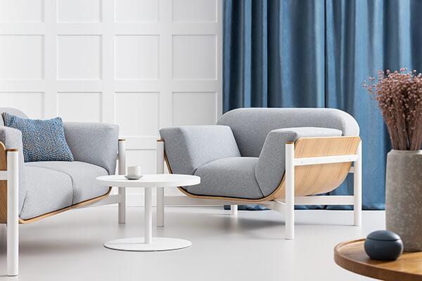 sofa dębowa